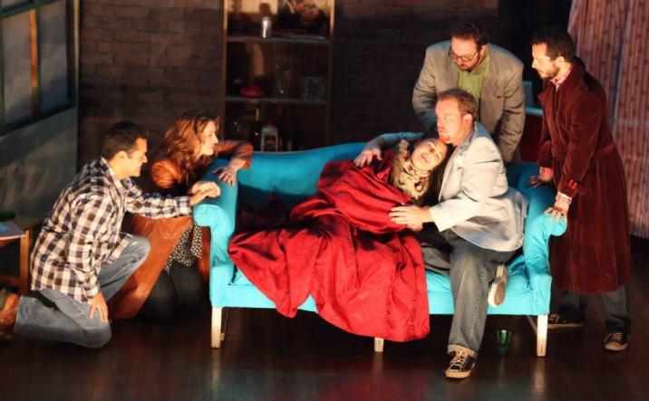 At Mimì's death bed